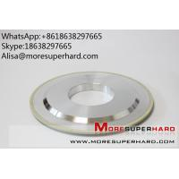 14A1 Vitrified bond diamond grinding wheels  Alisa@moresuperhard.com