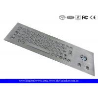 Vandal Proof Stainless Steel Industrial Computer Keyboard With 64 Keys