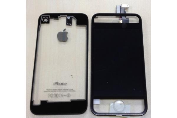 apple iphone 4s repair parts of clear conversion kit with. Black Bedroom Furniture Sets. Home Design Ideas