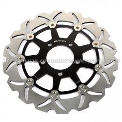 China 290mm GSXF 750 Motorcycle Brake Disc Brakes GSX 600 F Aluminum Alloy Steel on sale