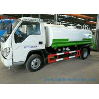 Foton 3000L Carbon Steel Construction Water Truck / Stainless Steel Water Truck