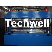 Custom 0.3 - 0.8mm Thickness Automatical Metal Corrugated Sheet Roll Forming Machine