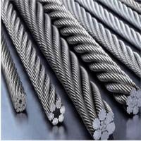 high quality galvanized/ungalvanized steel wire rope 6*19+FC 6*19+IWR