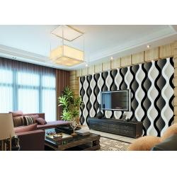 China PVC Modern Style Low Price Wallpaper For Livingroom , Natural Vermiculite Particles on sale