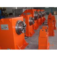 Red Rotary Welding Positioner 1000KG With Head And Tail Stock Lifting