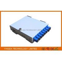 8 Core SC ST Adapter Fiber Optic Cable Junction Box, Cold Rolled Steel 8 Fibers PON Fiber Splice Box