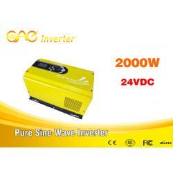 China off grid solar inverter single phase pure sine wave dc ac 24vdc to 240v inverter generator 2000w on sale