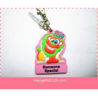 advertising 3D soft PVC  key chain key holder