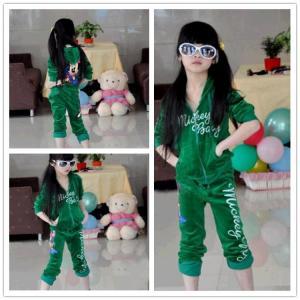 free sample!!new fashion kids sport clothing set summer teen girl ...