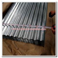 Corrugated Profile Roof Sheet SGCC SGCH Galvanised Iron Corrugation Roofing Sheet