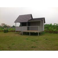 Construction WPC Houses / Eco-friendly Wood Plastic Composite WPC Board