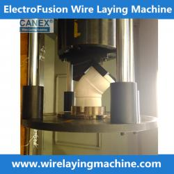 China Delta CNC E/F Wire Laying Machine for electrofusion fittinggs production on sale
