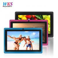 China Factory 5 Colors 8GB Q88 7 inch Tablet PC Allwinner A33 Quad-Core 512MB/8GB 1024x600 Dual Camera WIFI 2500mAh WIFI