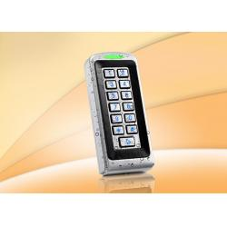 China Outdoor Standalone Door Access Control Systems Built In ID Card Reader , Waterproof grade IP68 on sale