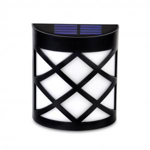 EASY INSTALL Solar LED Garden Lights , Warm White Solar Powered Yard Lights