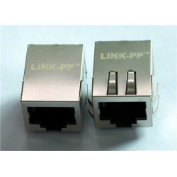 China XMG-J1A201ZCD Single RJ45 Connector MODULE With 10/100 BASE-TX MAGNETICS on sale