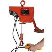 Heavy Duty Electric Wire Rope Hoist / 100kg Electric Chain Fall Hoist