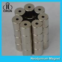 Permanent Neodymium Iron Boron Magnets Radial Ring Shaped ISO9001 Certificated
