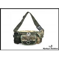 45'' Custom Camping Camo Fanny Pack Travel Multiple Pocket  Adjustable Waist Belt