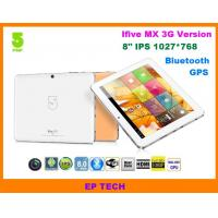8 GPS tablet PC IFive MX IPS screen with build in 3G 1G/16G Bluetooth HDMI