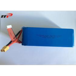 China 22.2 Volt 35C battery lithium polymer Uav Drone High Rate 10Ah Capacity on sale