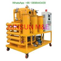 Siemens PLC Controlled Automatic Transformer Oil Purifier, High Performance Dielectric Oil Filtration