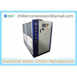 China 15HP R404A Copeland Compressor Air Cooled Fermentation Glycol Chiller on sale