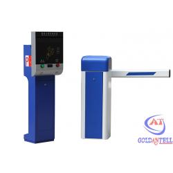China Entry / Exit Car Parking Management System IC Card Reader Gate With Computer Control on sale