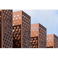 Geometric Pattern Decoration Perforated Metal Ceiling Panels