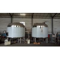 1000L mash lauter tun, brew kettle, 1000L boiling kettle , hot liquor tanks with the insulation layer