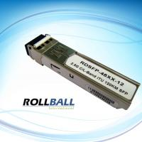 1600 nm 80km 1.25G DWDM Fiber SFP Transceiver Module With ITU.T C / L Band