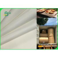 70gsm To 120gsm Food Grade Uncoated White Bleached Kraft Paper FDA EU SGS
