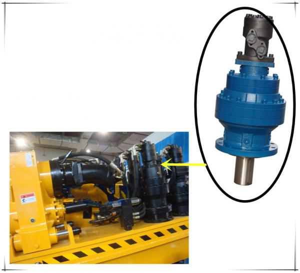 China drilling rig rotary head planetary gearbox supplier