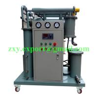 High Efficiency Portable Type Single Stage Vacuum Transformer Oil Purifier