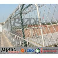 South Africa 150X300 Diamond Razor Mesh Fence