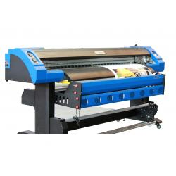 China Semi Automatic Digital Large Format Solvent Printer With DX7 Print Head on sale