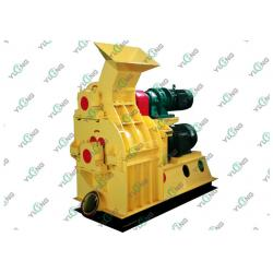 China High Efficiency Double Layer Wood Pallet Crusher / Wood Crushing Machine on sale