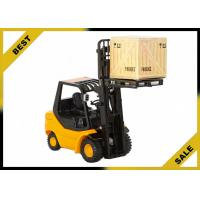 2 Ton Manual Fork Lift Trucks Hydraulic 3 Meter Lift Height With Adjustable Safety Seat