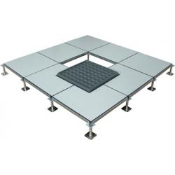 China Steel Anti Static Raised Computer Floors ISO9001 600 x 600 x 35mm for control rooms on sale