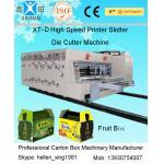 Spray Lubrication Numeric - Control Printing Slotting Die - Cutting Automatic Carton Machine