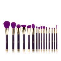 High end 15pcs makeup brush set OEM beauty professional cosmetic brush set