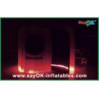 Color Change Inflatable LED Photo Booth With Remote Control L3*W2*H2.3M