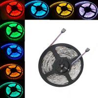 TOPIN 5M Waterproof SMD 5050 RGB Strip RGB LED Light Bar 150 LED+ Remotes