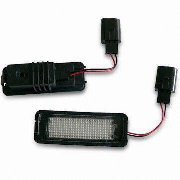cf天龙模型vwp_automotive led bulb with black panel, suitable for vwp license p