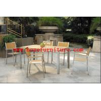 Outdoor Furniture / Garden Furniture / Stainless steel Dining set BZ-N001