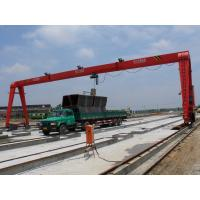 OEM economical Single Girder Gantry Crane for Railway yard / shipbulding 15t - 25m - 15m