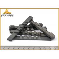 High Efficiency Tungsten Carbide Cutting Tools , Impact Wear - Resistant Cemented Carbide Cutting Tool