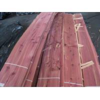 Sliced Natural Aromatic Red Cedar Wood Veneer Sheet