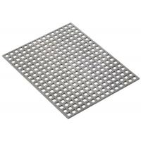 Cold & Hot Rolled Square Perforated Metal Special Straight Line Silver Color