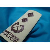 High Density Custom Clothing Patches , Heat Transfer Printing for Cotton Fabric Uniform